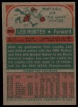 1973 Topps #263  Les Hunter  Back Thumbnail
