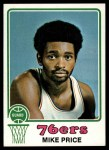 1973 Topps #51  Mike Price  Front Thumbnail
