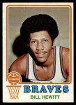 1973 Topps #97  Bill Hewitt  Front Thumbnail