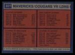 1974 Topps #221   -  Joe Caldwell / Tom Owens / Mack Calvin / Billy Cunningham Spirits Leaders Back Thumbnail