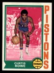 1974 Topps #22  Curtis Rowe  Front Thumbnail