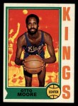 1974 Topps #29  Otto Moore  Front Thumbnail