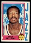 1974 Topps #65  Walt Bellamy  Front Thumbnail
