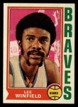 1974 Topps #157  Lee Winfield  Front Thumbnail