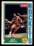 1974 Topps #169  Don Smith  Front Thumbnail