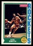 1974 Topps #169  Don Smith  Front Thumbnail