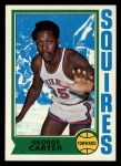 1974 Topps #178  George Carter  Front Thumbnail