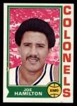 1974 Topps #217  Joe Hamilton  Front Thumbnail