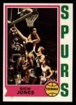 1974 Topps #242  Rich Jones  Front Thumbnail