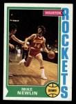 1974 Topps #127  Mike Newlin  Front Thumbnail