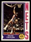 1974 Topps #181  Brian Taylor  Front Thumbnail