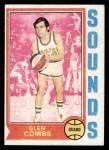 1974 Topps #199  Glen Combs  Front Thumbnail