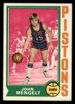 1974 Topps #58  John Mengelt  Front Thumbnail