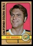 1972 Topps #162  Bert Marshall  Front Thumbnail