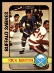 1972 Topps #145  Rick Martin  Front Thumbnail