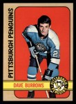 1972 Topps #82  Dave Burrows  Front Thumbnail
