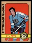 1972 Topps #11  Syl Apps  Front Thumbnail