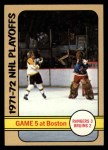 1972 Topps #6   NHL Playoff Game 5 Front Thumbnail