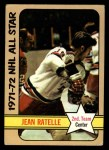 1972 Topps #130  Jean Ratelle  Front Thumbnail