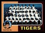 1975 Topps Mini #18   -  Ralph Houk Tigers Team Checklist Front Thumbnail