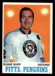 1970 Topps #89  Duane Rupp  Front Thumbnail