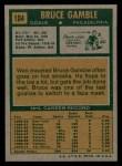 1971 Topps #104  Bruce Gamble  Back Thumbnail