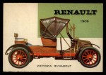 1954 Topps World on Wheels #32   Renault Victoria 1909 Front Thumbnail