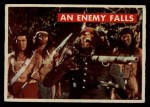 1956 Topps Davy Crockett Green Back #28   An Enemy Falls  Front Thumbnail