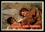 1956 Topps Davy Crockett Green Back #47   Rough and Tumble  Front Thumbnail