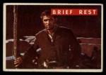 1956 Topps Davy Crockett Green Back #62   Brief Rest  Front Thumbnail