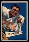 1952 Bowman Small #144  Jim Lansford  Front Thumbnail