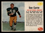 1962 Post #1  Dan Currie  Front Thumbnail