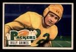 1951 Bowman #53  Billy Grimes  Front Thumbnail