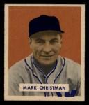 1949 Bowman #121  Mark Christman  Front Thumbnail