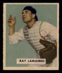 1949 Bowman #113  Ray Lamanno  Front Thumbnail