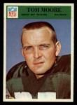 1966 Philadelphia #86  Tom Moore  Front Thumbnail