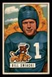 1951 Bowman #132  William Swiacki  Front Thumbnail