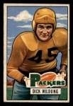 1951 Bowman #126  Dick Wildung  Front Thumbnail