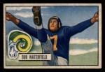 1951 Bowman #40  Bob Waterfield  Front Thumbnail