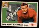 1955 Topps #1  Herman Hickman  Front Thumbnail