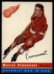 1954 Topps #27  Marcel Pronovost  Front Thumbnail