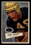 1952 Bowman Small #139  Jerry Shipkey  Front Thumbnail