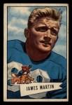 1952 Bowman Small #52  Jim Martin  Front Thumbnail