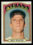 1972 Topps #399  Milt Wilcox  Front Thumbnail