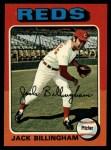 1975 Topps #235  Jack Billingham  Front Thumbnail