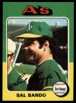 1975 Topps #380  Sal Bando  Front Thumbnail