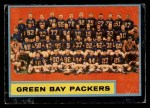 1962 Topps #75   Packers Team Front Thumbnail