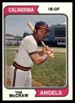 1974 Topps #449  Tom McCraw  Front Thumbnail