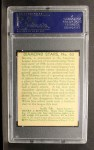 1935 Diamond Stars #65  Zeke Bonura  Back Thumbnail
