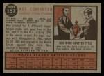 1962 Topps #157 GRN Wes Covington  Back Thumbnail